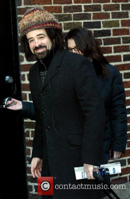 Adam Duritz, David Letterman and Ed Sullivan Theatre 3