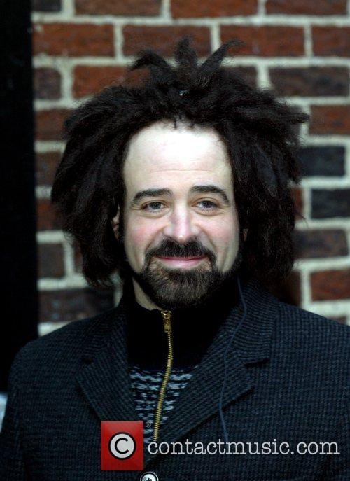 Adam Duritz, David Letterman and Ed Sullivan Theatre 1