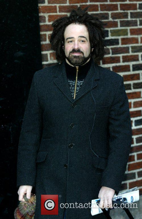 Adam Duritz, David Letterman and Ed Sullivan Theatre 2