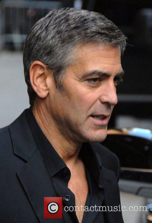 George Clooney and David Letterman 13