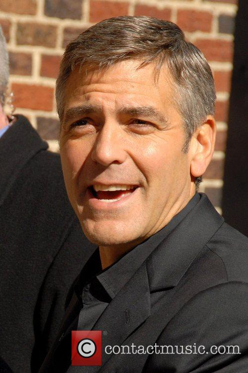 George Clooney and David Letterman 14
