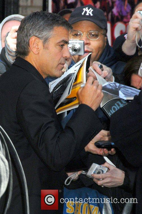 George Clooney and David Letterman 12