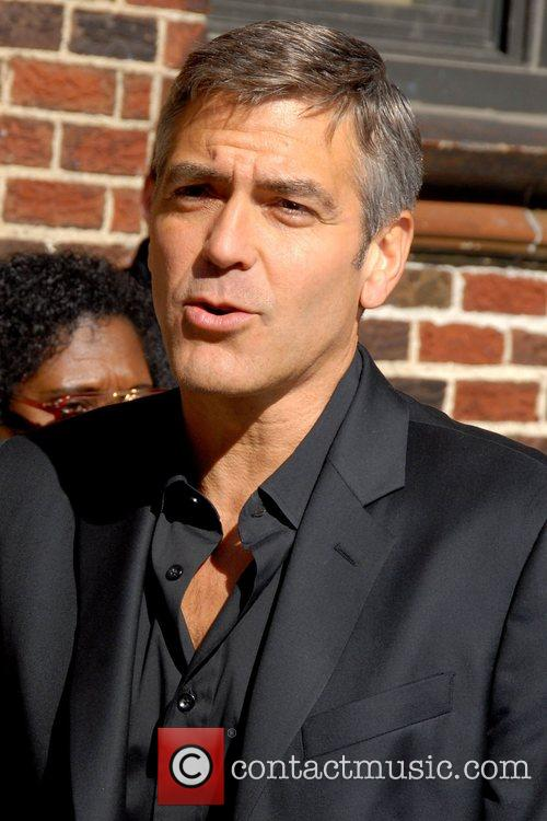 George Clooney and David Letterman 17