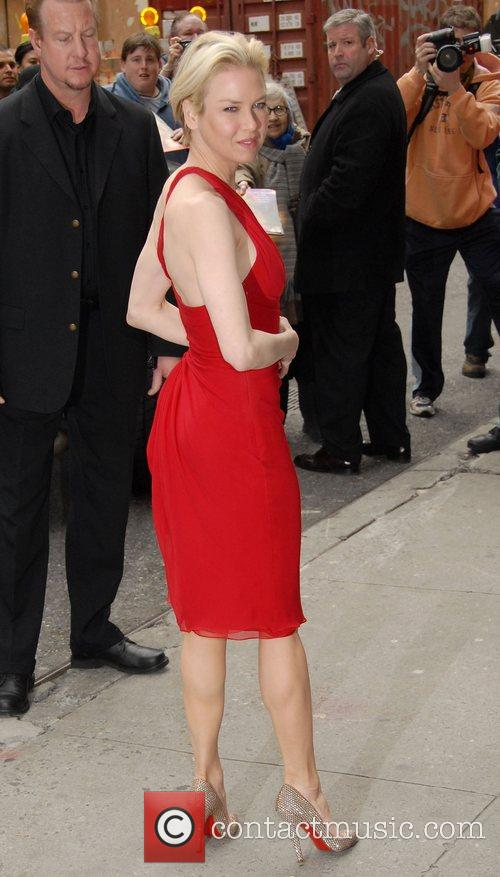 Renee Zellweger and David Letterman 3