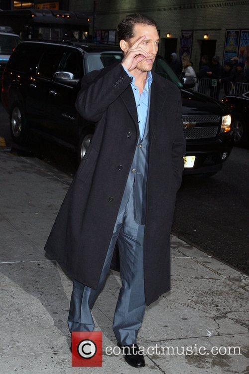 Matthew Mcconaughey and David Letterman 7