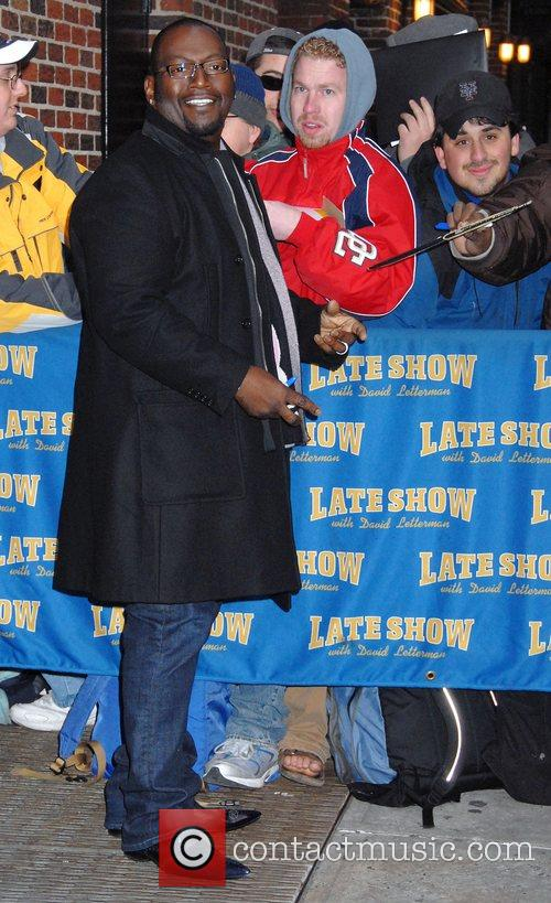 Randy Jackson and David Letterman 3