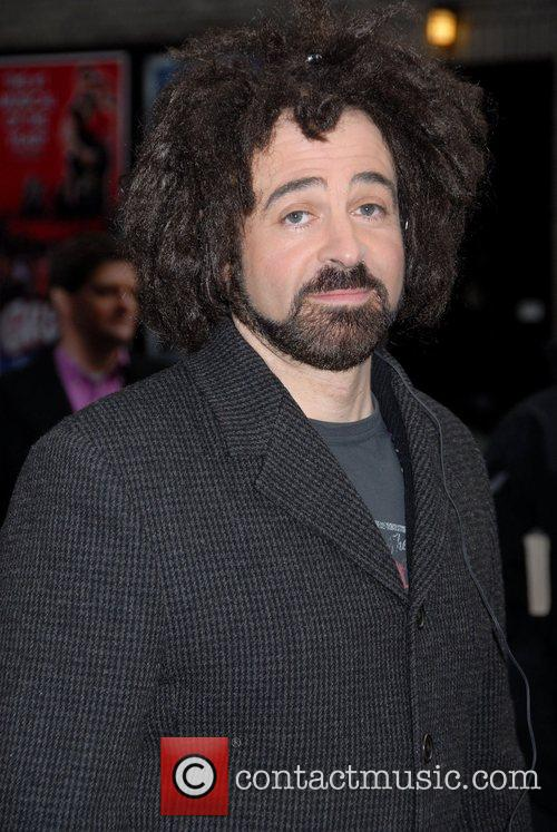Adam Duritz, David Letterman and Ed Sullivan Theatre 4