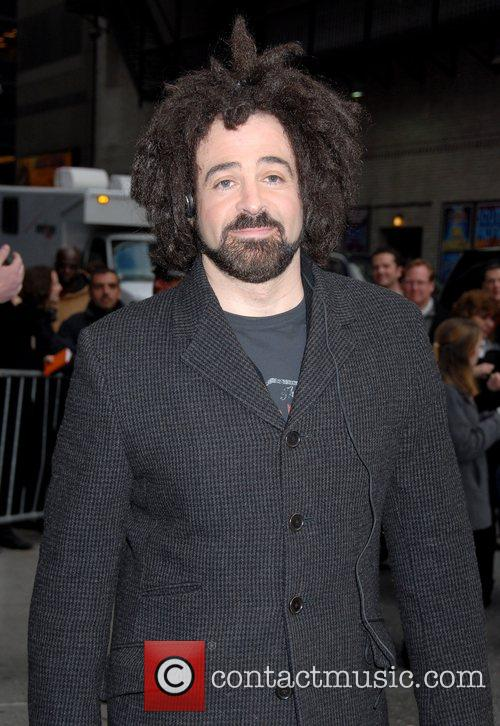 Adam Duritz, David Letterman and Ed Sullivan Theatre 6