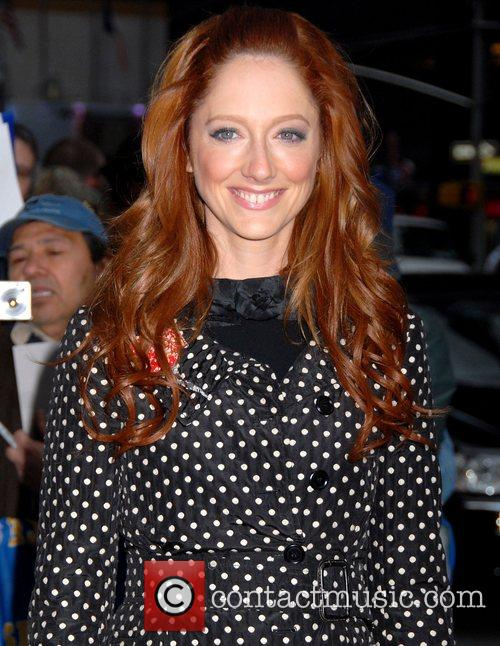 Judy Greer, David Letterman and Ed Sullivan Theatre 7