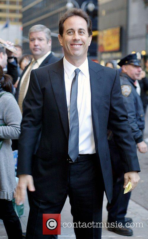 Jerry Seinfeld and David Letterman 7
