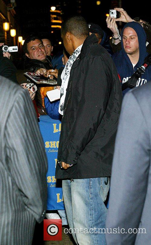 Jay Z and David Letterman 10