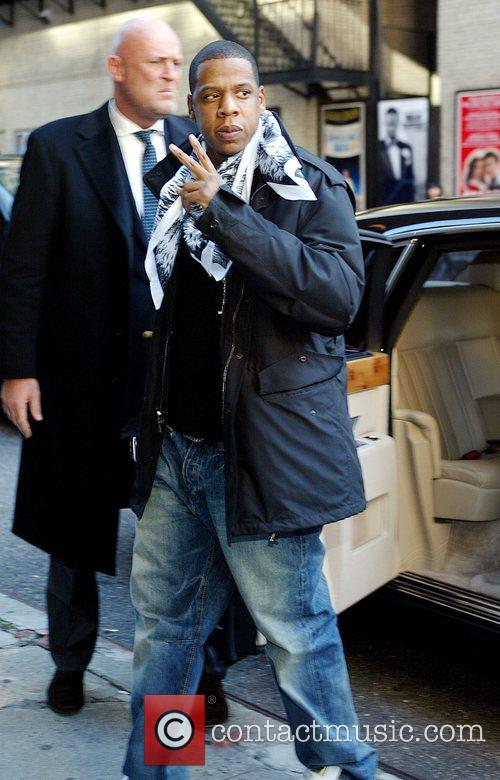 Jay Z and David Letterman 9