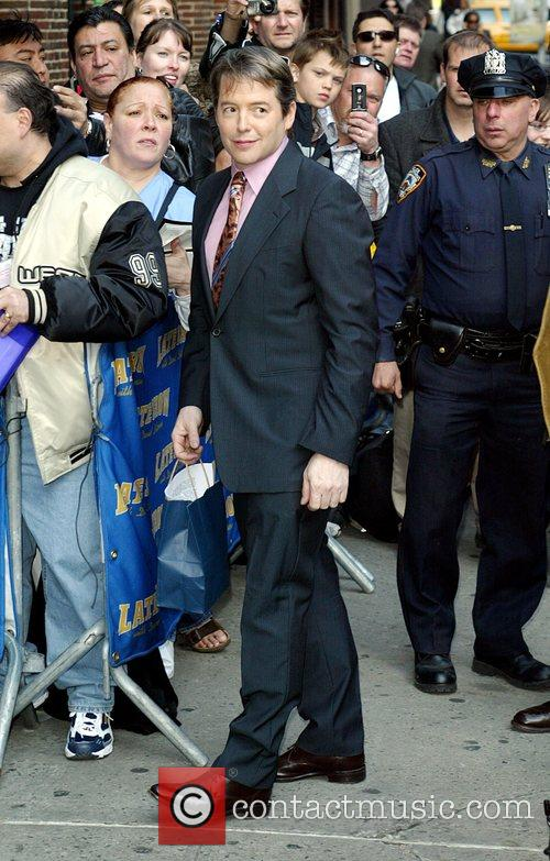 Matthew Broderick and David Letterman 8