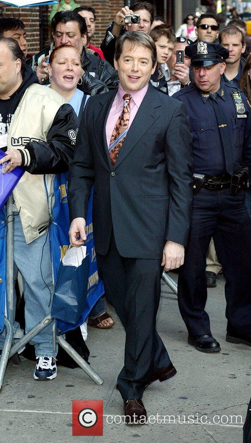 Matthew Broderick and David Letterman 10
