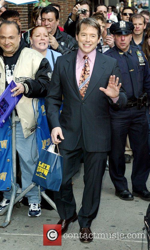 Matthew Broderick and David Letterman 4