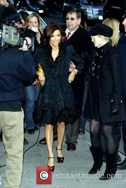eva longoria david letterman. Eva Longoria and David