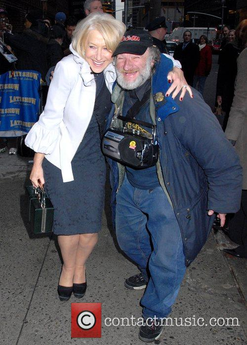 Helen Mirren and David Letterman 3
