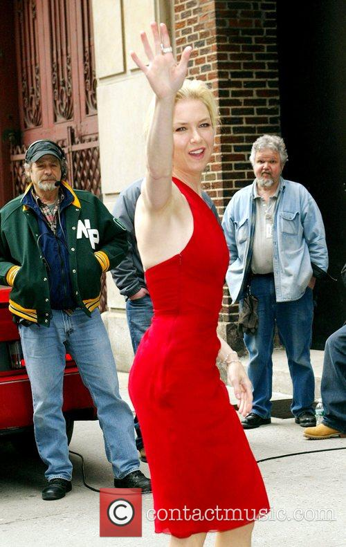 Renee Zellweger, David Letterman, Ed Sullivan Theatre