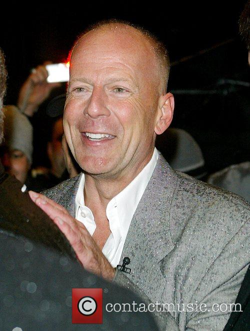 Bruce Willis and David Letterman 1