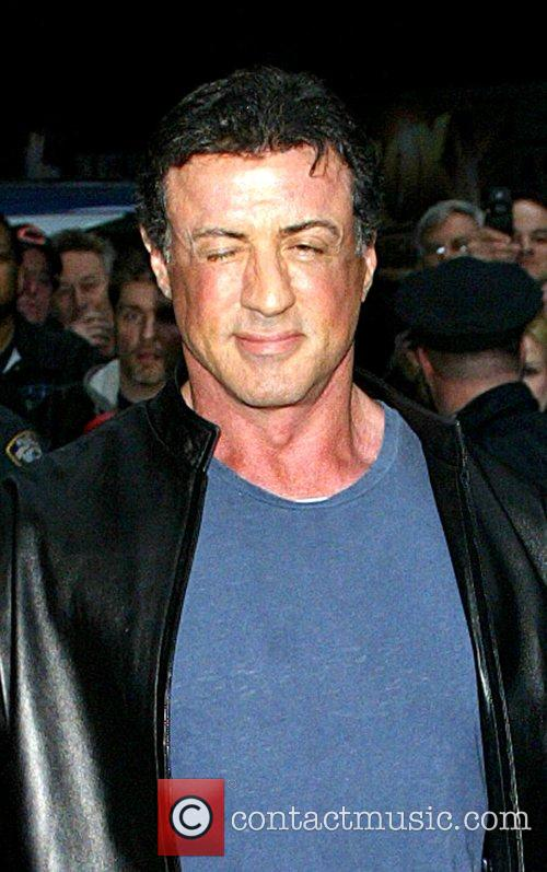 Sylvester Stallone and David Letterman 14