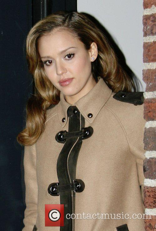 Jessica Alba and David Letterman 20
