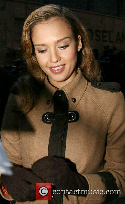 Jessica Alba and David Letterman 27
