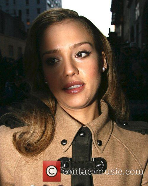 Jessica Alba and David Letterman 18