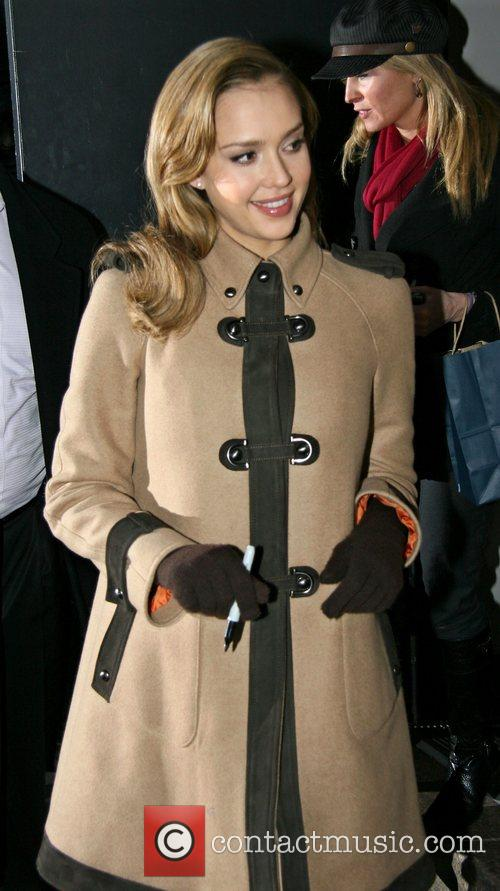 Jessica Alba and David Letterman 34