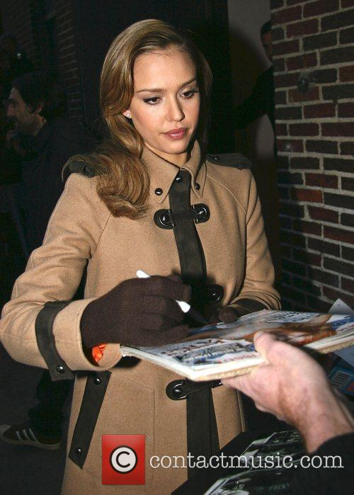 Jessica Alba and David Letterman 33