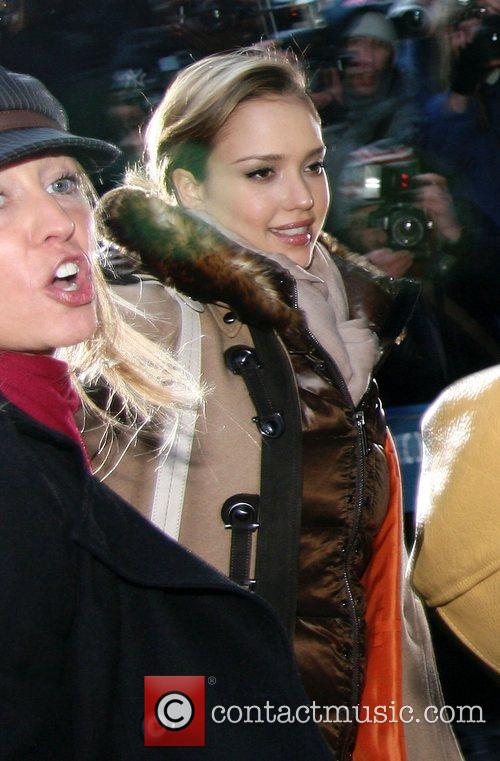 Jessica Alba and David Letterman 25