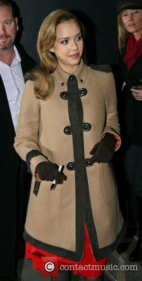 Jessica Alba and David Letterman 30
