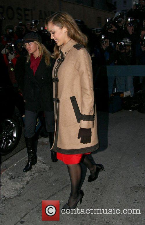 Jessica Alba and David Letterman 28