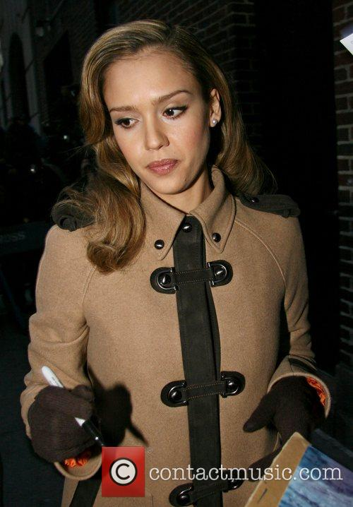Jessica Alba and David Letterman 26