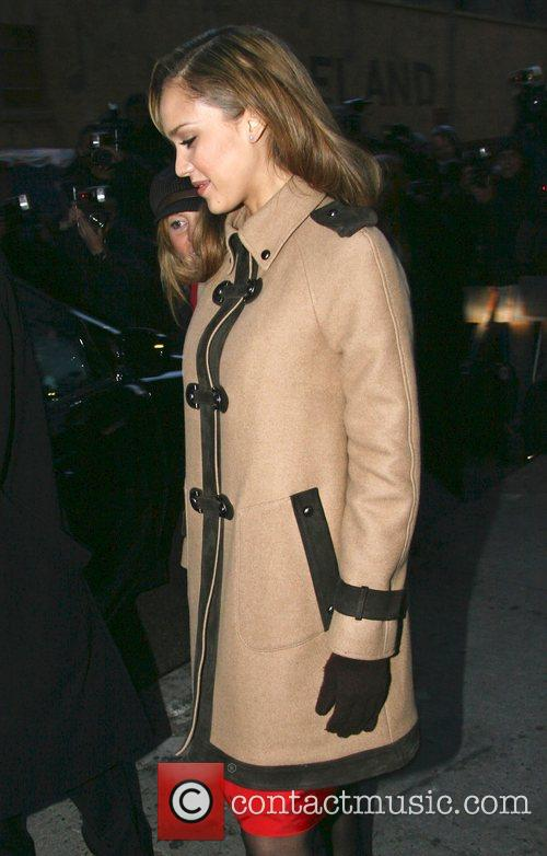 Jessica Alba and David Letterman 29