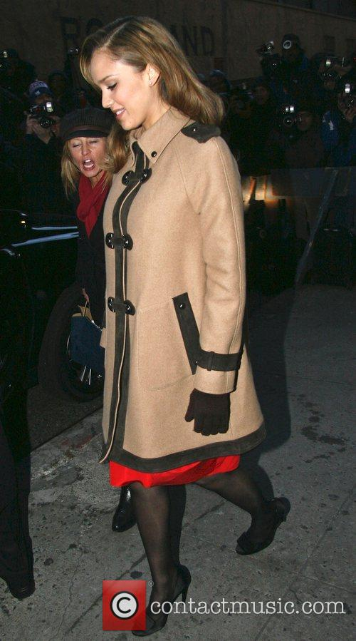 Jessica Alba and David Letterman 32