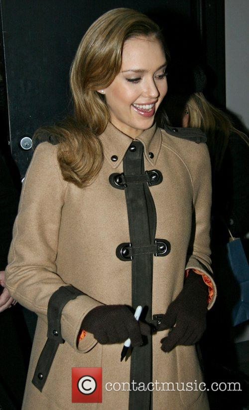 Jessica Alba and David Letterman 35