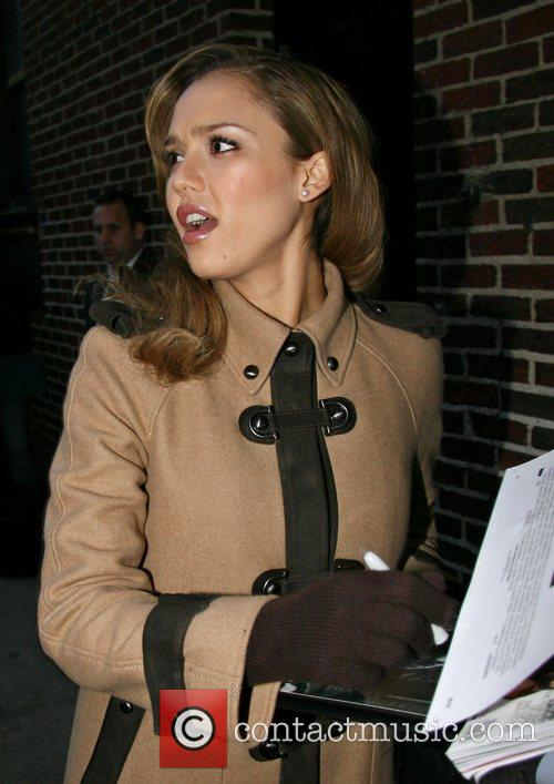 Jessica Alba and David Letterman 19