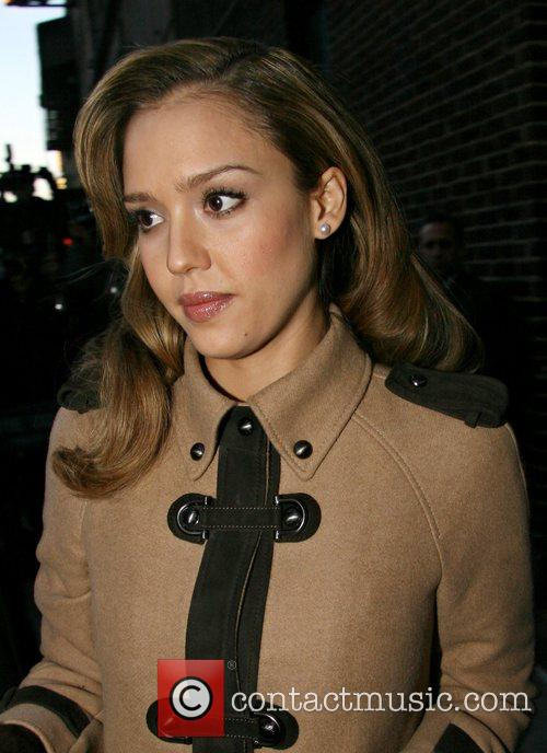 Jessica Alba and David Letterman 36