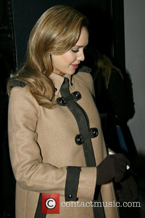 Jessica Alba and David Letterman 24