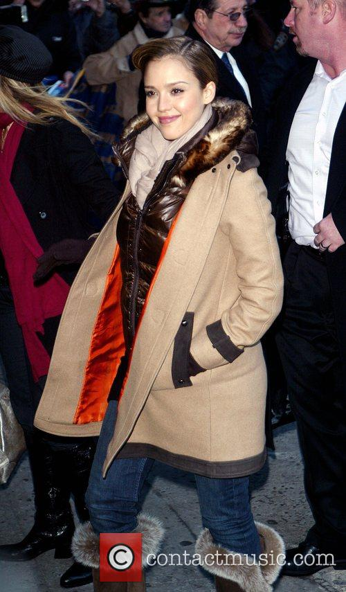 Jessica Alba and David Letterman 37