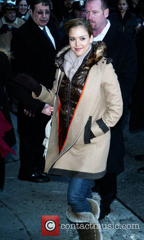 Jessica Alba and David Letterman 39