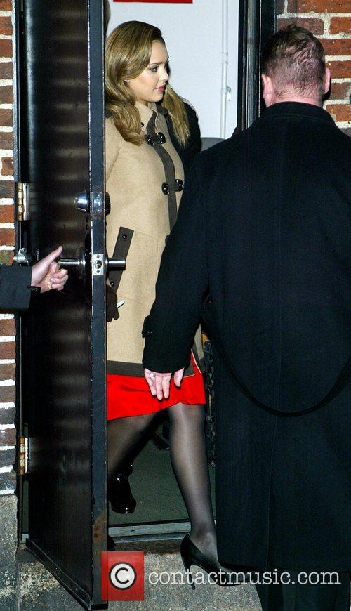 Jessica Alba and David Letterman 38