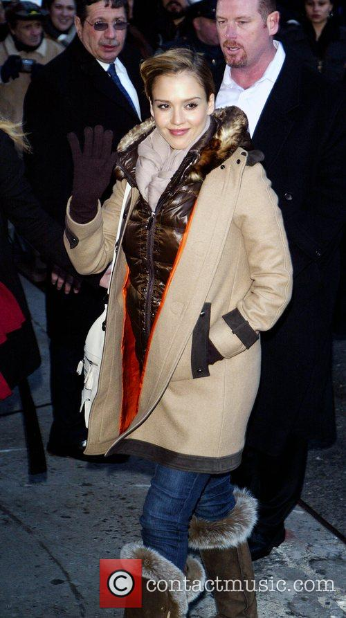 Jessica Alba and David Letterman 41