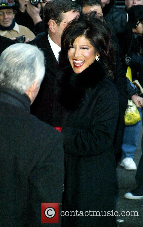 Julie Chen and David Letterman 14