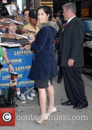 Outside Ed Sullivan Theatre for the 'Late Show...