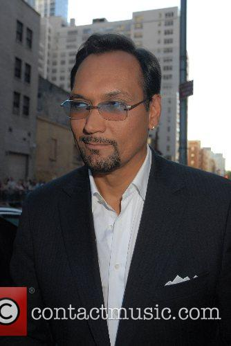 Jimmy Smits and David Letterman 10