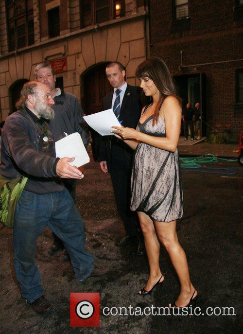 Halle Berry and David Letterman 13