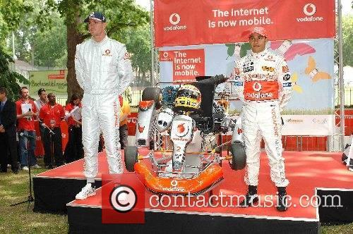 Lewis Hamilton and Kevin Pietersen Lewis Hamilton is...