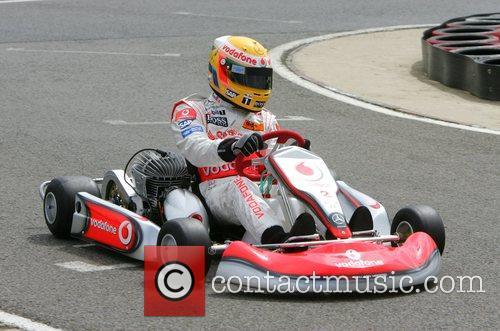 At the Daytona Karting track.