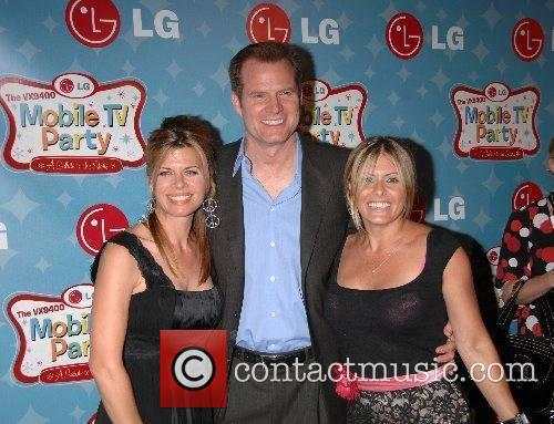 Jack Coleman with wife and Nicole Eggert LG...